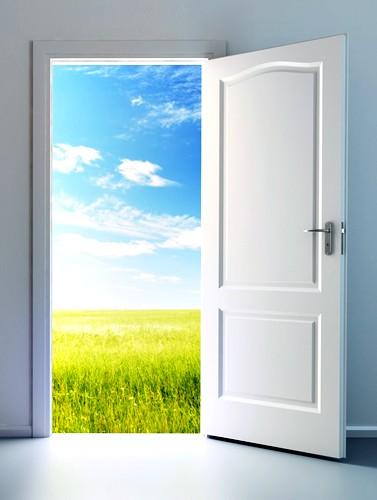 as portas abertas